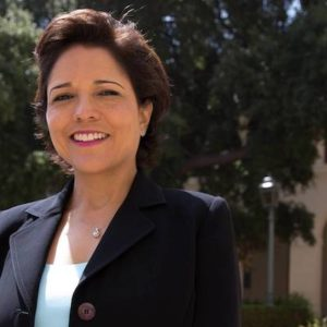 Katherine Aguilar Perez-Estolano is a candidate for the 25th Senate District seat