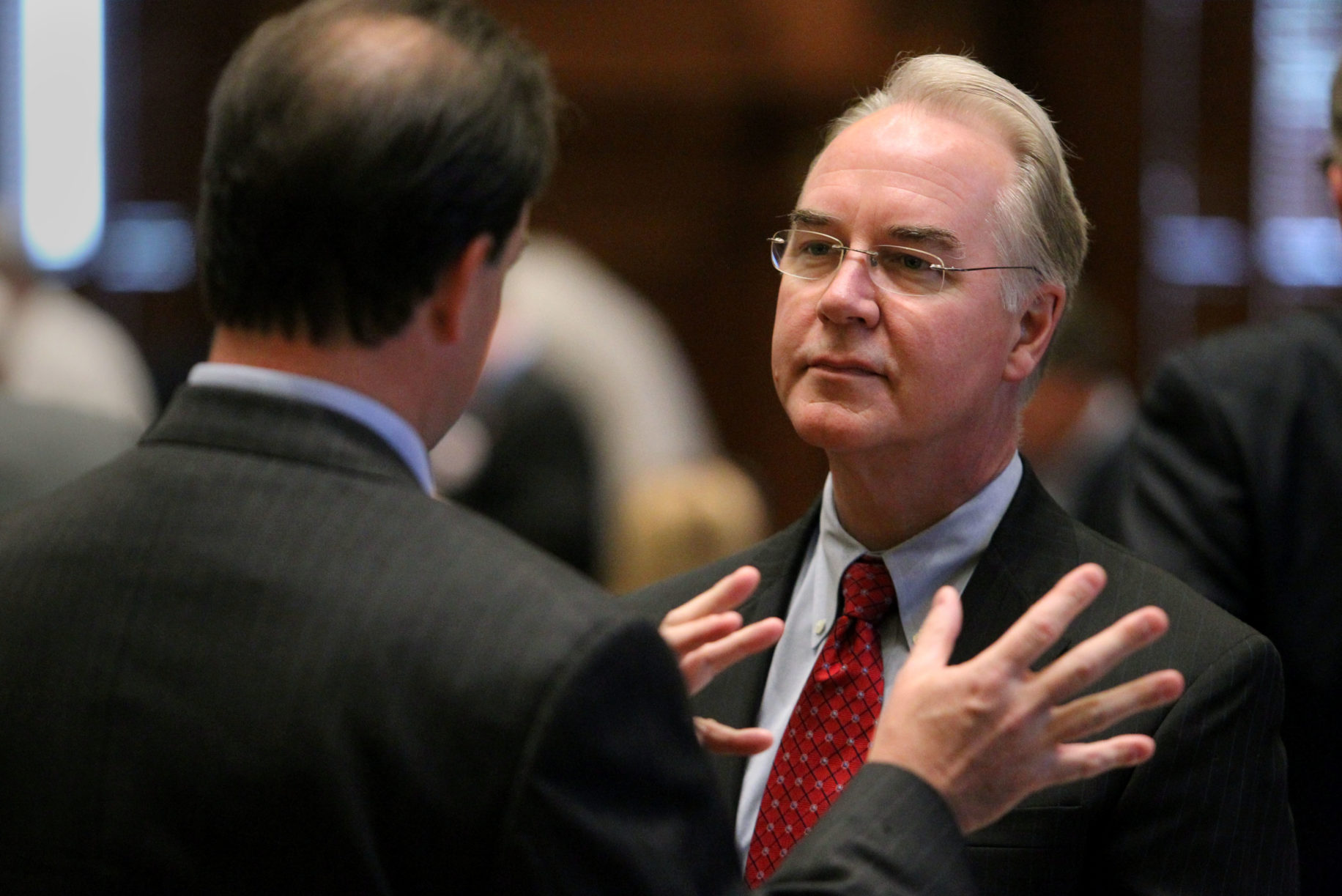 U.S. Rep. Tom Price, R-Roswell, Georgia, is Donald Trump's choice for Secretary of the Department of Health and Human Services.