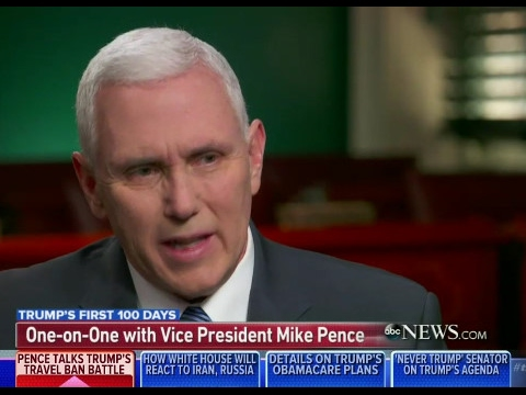 Mike Pence on ABC News