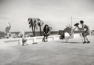 "Walker Evans, ""Resort Photographer at Work,"" 1941;"